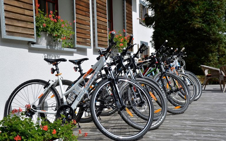 Mountainbikes-leihen-im-Waldhotel-am-Nuerburgring-in-der-Eifel-in-Baar