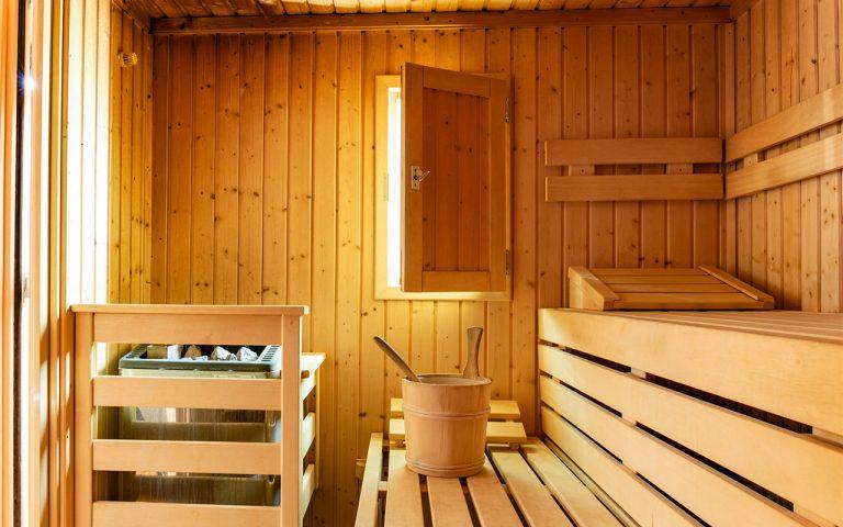 Sauna-im-Waldhotel-am-Nuerburgring-mit-Schwallduschen-und-Aussenbereich-zum-auskuehlen